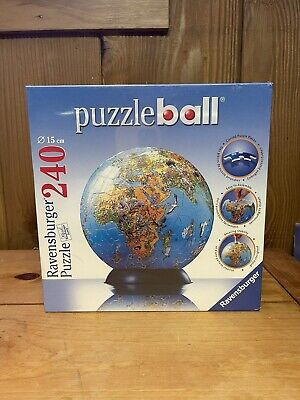$20 • Buy Ravensburger Puzzle Ball World Earth 240 Plastic Pieces With Stand Sealed New