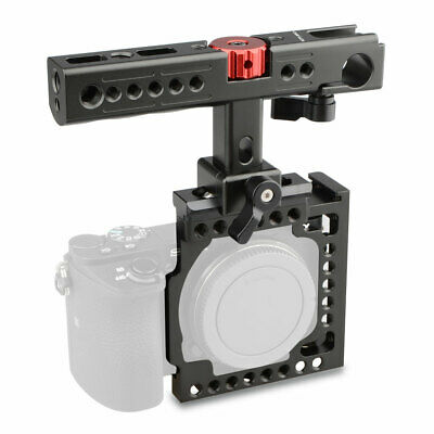 $ CDN96.92 • Buy CAMVATE Camera Cage Cheese Handle 15mm Hole For Sony A6500 A6000 ILCE-6300 NEX7