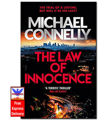 £5.75 • Buy THE LAW OF INNOCENCE Michael Connelly PAPERBACK *BRAND NEW*