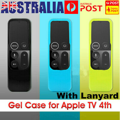 AU6.29 • Buy For Apple TV (4th Gen)  Remote Controller Anti Dust Silicone Case Cover Skin AU