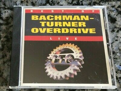 £4.95 • Buy Bachman-Turner Overdrive : Best Of Live CD