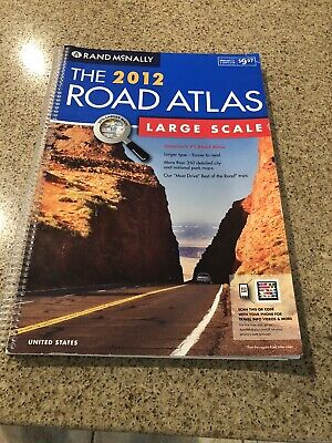 £10.50 • Buy Rand McNally Large Scale 2012 Road Atlas