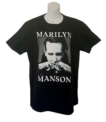 $15.97 • Buy MARILYN MANSON  Twins Of Evil 2018  Tour Shirt - MM Label - Size Large