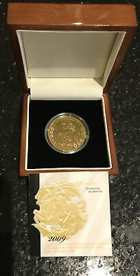 £39 • Buy Sterling Silver St George & Dragon £5 Coin Gold Coated Inset With 6 Rubies COA