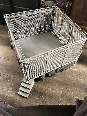 £212.39 • Buy WWE NXT Authentic Elite Scale Ring & Steel Cage Wicked Cool Toys Mattel Complete