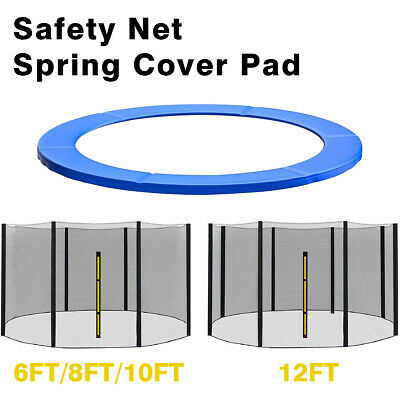 £33.99 • Buy Trampoline Replacement Safety Net Enclosure Spring Cover Padding Pad 6 8 10 12FT