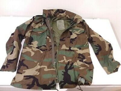 $45 • Buy Military M-65 Field Jacket Tactical M65 Coat Uniform Army Camo Size Small Short