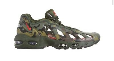 £130 • Buy Supreme X Nike Air Max 96 Camo UK 8 / US 9 BRAND NEW IN HAND FREE DELIVERY