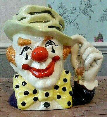 £61.50 • Buy Royal Doulton(item558)THE CLOWN D6834 LARGE CHARACTER JUG MINT CONDITION.