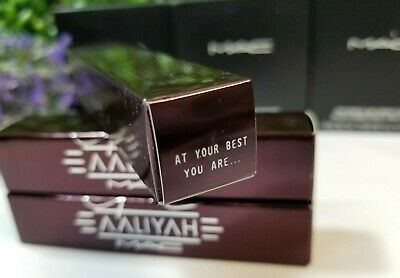 $28 • Buy MAC X AALIYAH Lipglass Lip Gloss 0.16oz ~ At Your Best You Are ~ (NEW IN BOX)