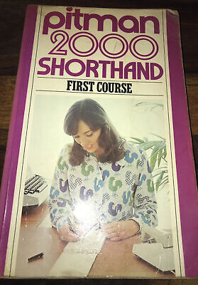 £8.25 • Buy Pitman 2000: Shorthand First Course By Pitman Book.Cheap Fast Free Post