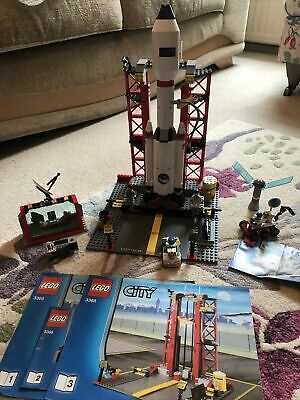 £45 • Buy Lego City Space Centre 3368. 99% Complete. Inc Lego City 3365 Moon Buggy.