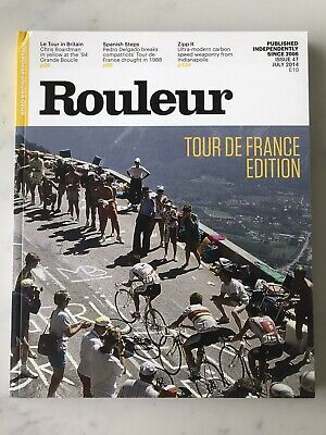 £7 • Buy Cycling Road Racing Rouleur Magazine Issue 47, July 2014 Tour De France Edition
