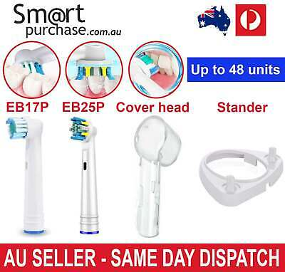 AU7.56 • Buy 1/20pcs Floss Action Replacement Toothbrush Electric Heads For Oral B Braun AU W