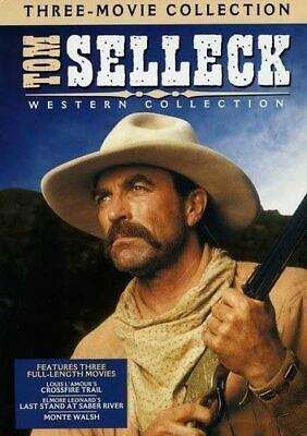 £24.99 • Buy TOM SELLECK WESTERN COLLECTION Crossfire Trail NEW REGION FREE UK COMPATIBLE DVD