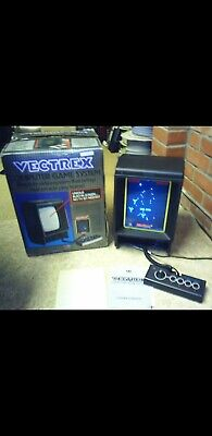 £1595 • Buy Vectrex Console 18 Games And Light Pen