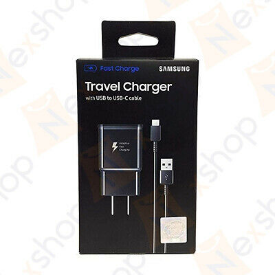$ CDN12.17 • Buy Original Samsung Galaxy S8 S9 Plus Note 8+ Fast Wall Charger USB C Type-C Cable