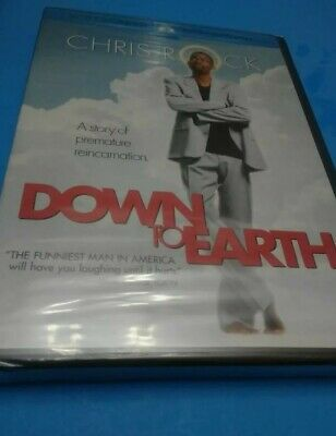£5.66 • Buy Down To Earth DVD Widescreen Collection Chris Rock NEW Comedy Funny