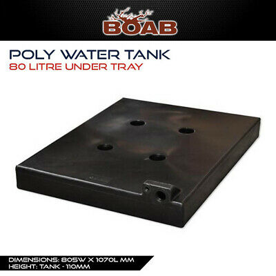 AU325 • Buy Poly Water 80 Lt Tank Under Tray Ute Utility 4X4 4WD Offroad Touring Camping