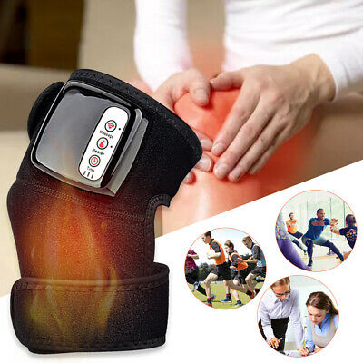 £20.89 • Buy Knee Joint Massager Heat Physiotherapy Therapy Pain Relief Vibration Machine UK