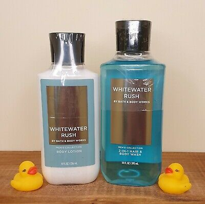 £23 • Buy Bath & Body Works Whitewater Rush Shower Gel And Body Lotion Set