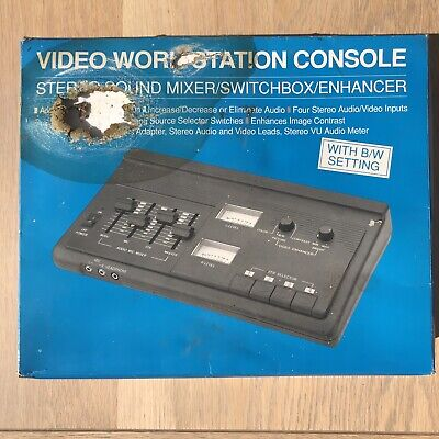 £9.99 • Buy IQ Video Work Station Console Stereo Sound Mixer/Switchbox/Enhancer - Unused
