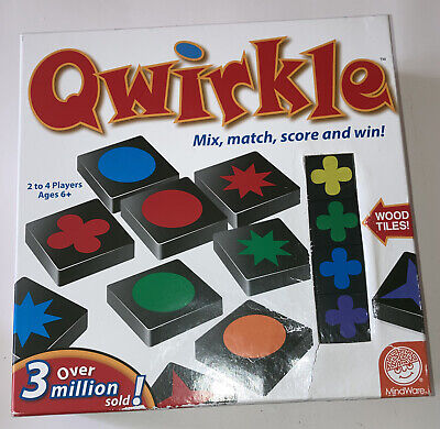 $ CDN23.62 • Buy Qwirkle Game By Mindware Ages 6+, 2-4 Players - New , No Plastic Seal