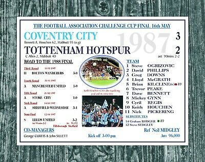 £8.95 • Buy Coventry City Fc Football Plaque Metal Sign Print Poster Mug Gift Art Programme