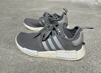 $ CDN49.53 • Buy Adidas NMD R1 Gray And White - Size 7.5