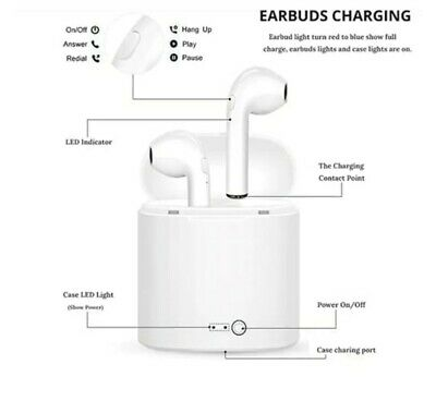 $ CDN12.10 • Buy Wireless  Bluetooth Earbuds For Iphone Android Universal I7s Mini