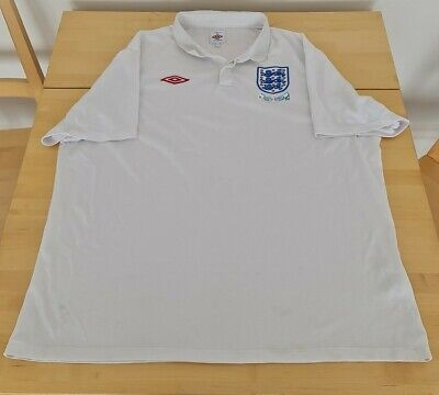 £21.99 • Buy England Home Shirt 2009-2010 South Africa WC 3XL 52