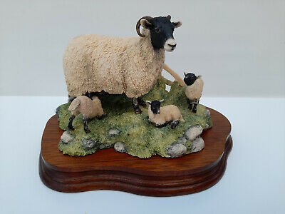 £55 • Buy Border Fine Arts 'spring Lambing' Jh6 James Herriot All Creatures Great & Small