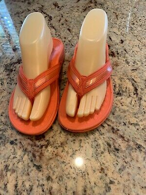 £36.30 • Buy Orthaheel Dr Andrew Weil Vionic Beautiful Coral Tide C0mfort Sandals 7 Very Nice