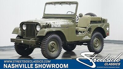$48995 • Buy 1952 Willys M38A1 Military Jeep  Classic Vintage Military Jeep Restored By Specialty Jeeps