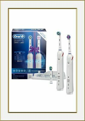 AU187.35 • Buy Braun Oral B Smart5 5000 Dual Handle Electric Toothbrush Special Edition Pack