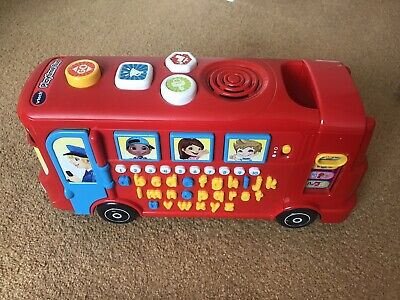 £10 • Buy Vtech Alphabet And Numbers Bus
