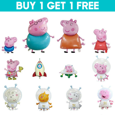 £4.95 • Buy Kids Balloons Peppa George Birthday Party Foil Air Helium Fill Balloons UK