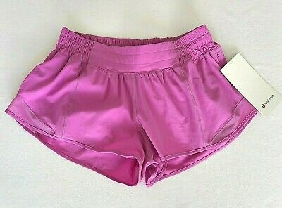 $ CDN59.51 • Buy LULULEMON Hotty Hot LR Short 2.5  Size 12 Lined Magenta Glow MGLO NEW WITH TAGS!