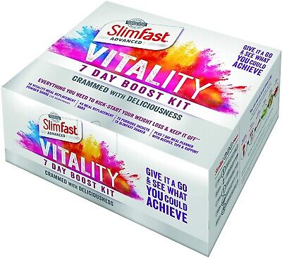 £17.30 • Buy SlimFast 7 Day Kick-Start Pack Diet Weight Loss Plan 1 Week CHEAPEST PRICE