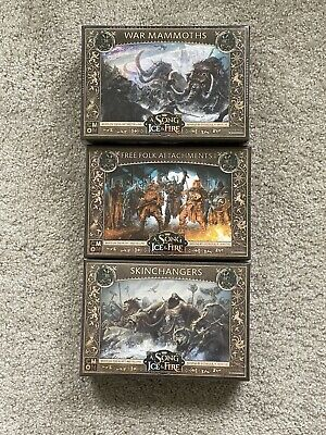 £53.10 • Buy A Song Of Ice And Fire Free Folk Lot War Mammoths Skinchangers Attachments I NIB