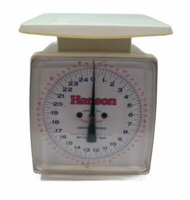 £25.16 • Buy Vintage General Household Hanson Scale Made In USA Has Some Discoloration