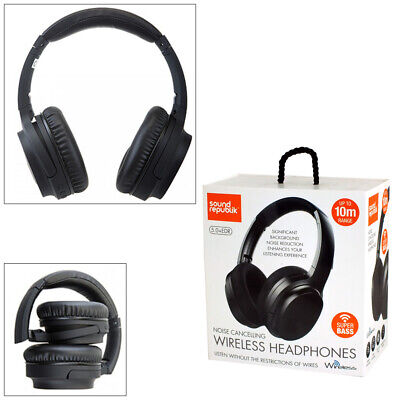 £18.95 • Buy Sound Republik Noise Cancelling Wireless Headphones With Super Bass