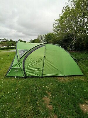 £290 • Buy Vango Cosmos 400 4 Person Tent - Pamir Green. 2020 Model. Only Used Twice