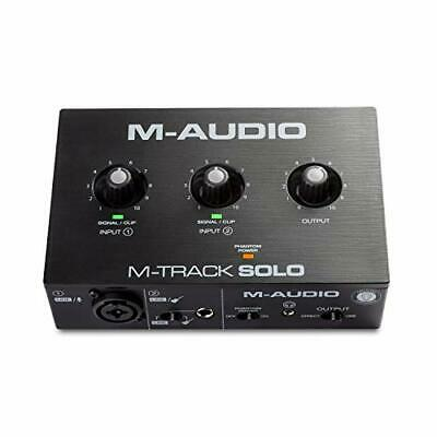 $71.93 • Buy M-Audio M-Track Solo – USB Audio Interface For Recording, Streaming And