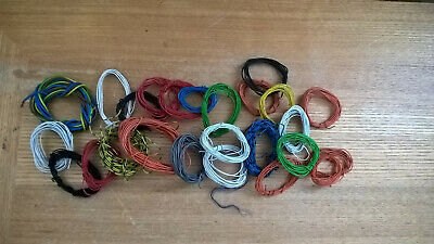 £4.99 • Buy N OO O Model Railway Equipment Electrical Cable Wire JobLot #3