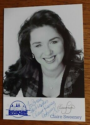 £5.99 • Buy Claire Sweeney  Brookside  Hand Signed 6 X4  Photograph