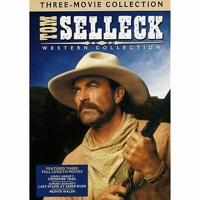 £7.75 • Buy Tom Selleck Western Collection DVD