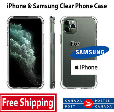 $ CDN5.87 • Buy IPhone - Samsung Soft TPU Phone Case With Shock Absorption Bumpers