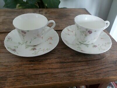 £8.50 • Buy 2 X BEAUTIFUL WEDGWOOD CAMPION COFFEE CUPS AND SAUCERS VERY GOOD CONDITION