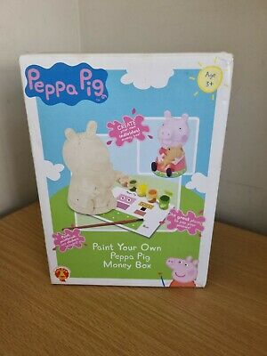 £14.99 • Buy Peppa Pig Paint Your Own Money Box
